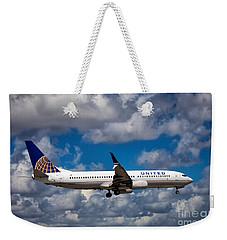 United Airlines Boeing 737 Ng Weekender Tote Bag