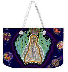 United Planets Of The Queen Of Heaven Weekender Tote Bag