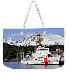 United States Coast Guard Cutter Liberty Weekender Tote Bag