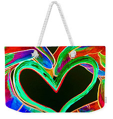 Universal Sign For Love Weekender Tote Bag