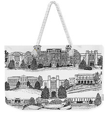 University Of Arkansas Fayetteville Weekender Tote Bag
