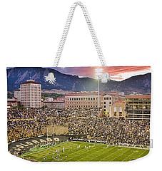 University Of Colorado Boulder Go Buffs Weekender Tote Bag by James BO  Insogna