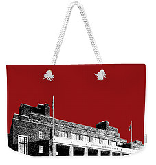University Of Minnesota - Coffman Union - Dark Red Weekender Tote Bag