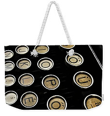 Unsaid Words Weekender Tote Bag