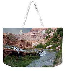Unspoiled Waterfall Weekender Tote Bag