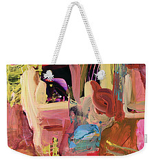Untitled Abstract Weekender Tote Bag