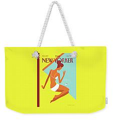 New Yorker August 9th, 2010 Weekender Tote Bag