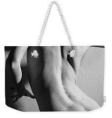 Untitled In Black And White Weekender Tote Bag by Joe Kozlowski