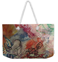 Untitled Watercolor 1998 Weekender Tote Bag