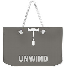 Unwind Weekender Tote Bag