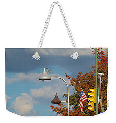 Unwrapped Wrapped Unwrapped Wrapped And On And On Weekender Tote Bag