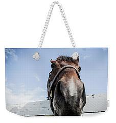 Up Close Weekender Tote Bag by Alexey Stiop