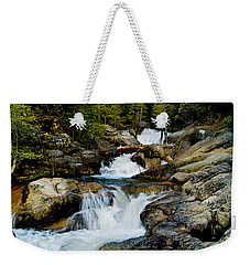 Up The Creek Weekender Tote Bag by Bill Gallagher