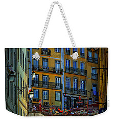 Up The Stairs - Lisbon Weekender Tote Bag