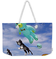 Up Up And Away Weekender Tote Bag by E Faithe Lester