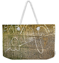 Up Yours Baby Weekender Tote Bag