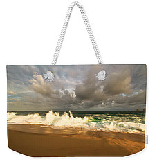 Weekender Tote Bag featuring the photograph Upcoming Tropical Storm by Eti Reid