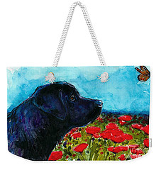 Updraft Weekender Tote Bag by Molly Poole