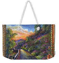 Uphill Weekender Tote Bag
