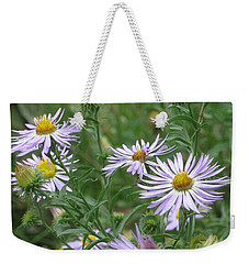 Uplifted Asters Weekender Tote Bag