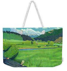 Upper Bear Creek Colorado Weekender Tote Bag