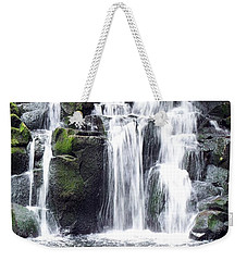 Upper Beaver Falls Weekender Tote Bag by Chalet Roome-Rigdon