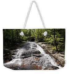 Upper Chapel Brook Falls Weekender Tote Bag