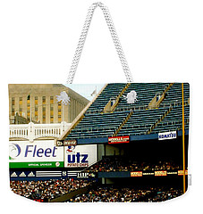 Upper Deck  The Yankee Stadium Weekender Tote Bag