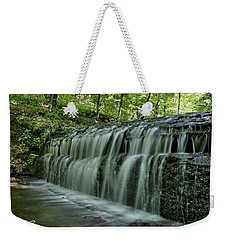 Upper Falls At Stillhouse Hollow Weekender Tote Bag