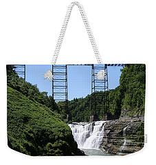 Upper Falls Of The Genesee River  Weekender Tote Bag