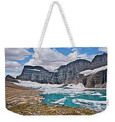 Upper Grinnell Lake And Glacier Weekender Tote Bag