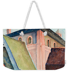 Upper Level Weekender Tote Bag