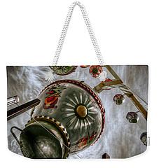 Upwardly Mobile Weekender Tote Bag by Wayne Sherriff