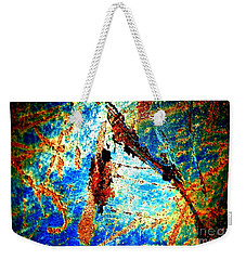 Weekender Tote Bag featuring the photograph Urban Abstract by Christiane Hellner-OBrien