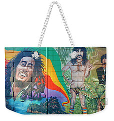Urban Graffiti 1 Weekender Tote Bag by Janice Westerberg