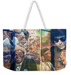 Urban Graffiti 3 Weekender Tote Bag by Janice Westerberg