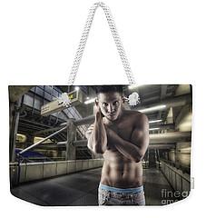 Urban Hunk 1.0 Weekender Tote Bag