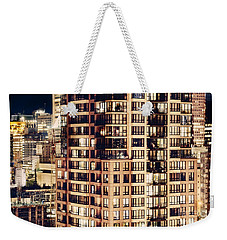Weekender Tote Bag featuring the photograph Urban Living Dclxxiv By Amyn Nasser by Amyn Nasser
