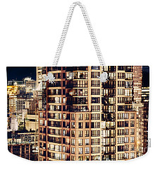Urban Living Dclxxiv By Amyn Nasser Weekender Tote Bag by Amyn Nasser