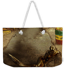 Urban Mermaid Weekender Tote Bag by Galen Valle