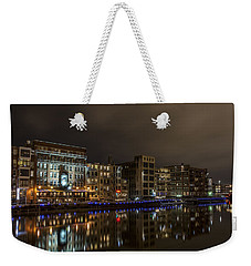Urban River Reflected Weekender Tote Bag