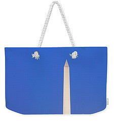 Us Capitol, Washington Monument Weekender Tote Bag