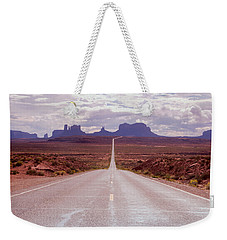 Us Highway 163 Weekender Tote Bag