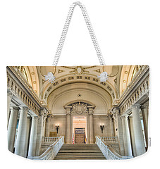 Us Naval Academy Bancroft Hall I Weekender Tote Bag by Clarence Holmes