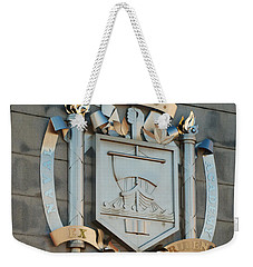 Us Naval Academy Insignia Weekender Tote Bag by Mark Dodd