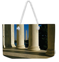 Usa, District Of Columbia, Jefferson Weekender Tote Bag by Panoramic Images