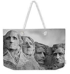 Usa, South Dakota, Mount Rushmore, Low Weekender Tote Bag by Panoramic Images