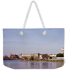 Usa, Washington Dc, Washington Monument Weekender Tote Bag by Panoramic Images