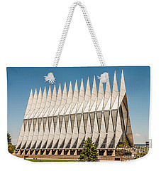 Air Force Academy Chapel Weekender Tote Bag by Sue Smith