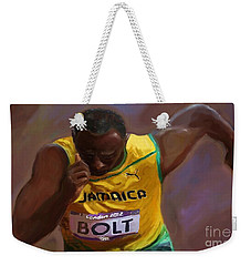Usain Bolt 2012 Olympics Weekender Tote Bag